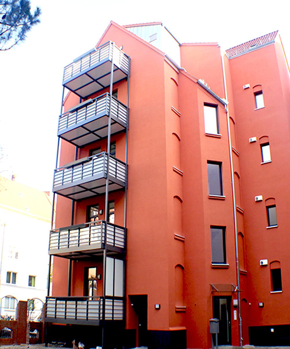 Hannover-List, Franz-Bork-Str. 10, energetische Sanierung unter Denkmalschutzauflagen, Dachgeschossaufbau, MACON BAU GmbH Magdeburg