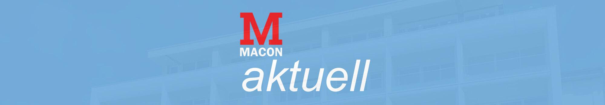 MACON aktuell, Zeitschrift der MACON BAU GmbH Magdeburg