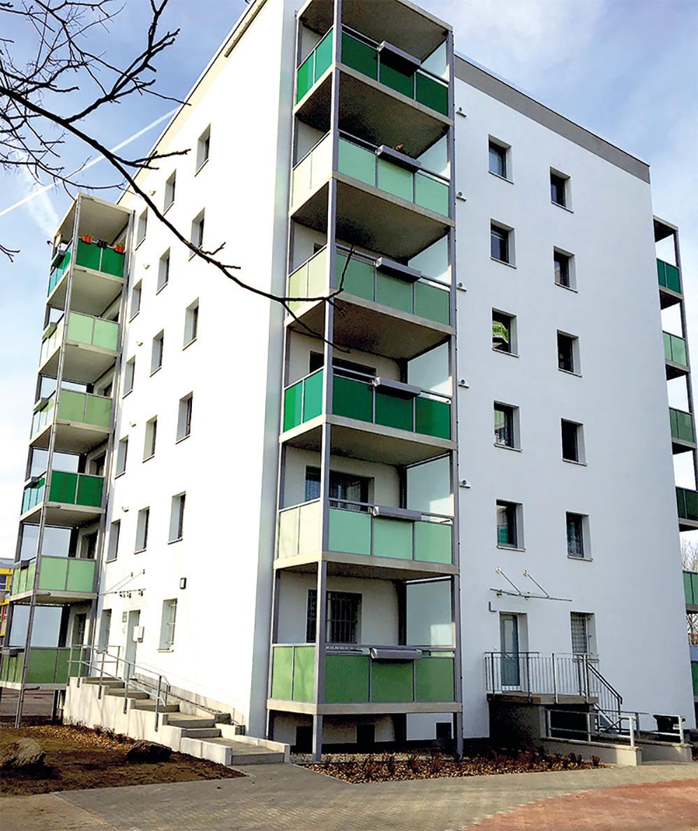 BV Magdeburg Olvenstedter Scheid 39+41, Komplettsanierung in 2 Bauphasen