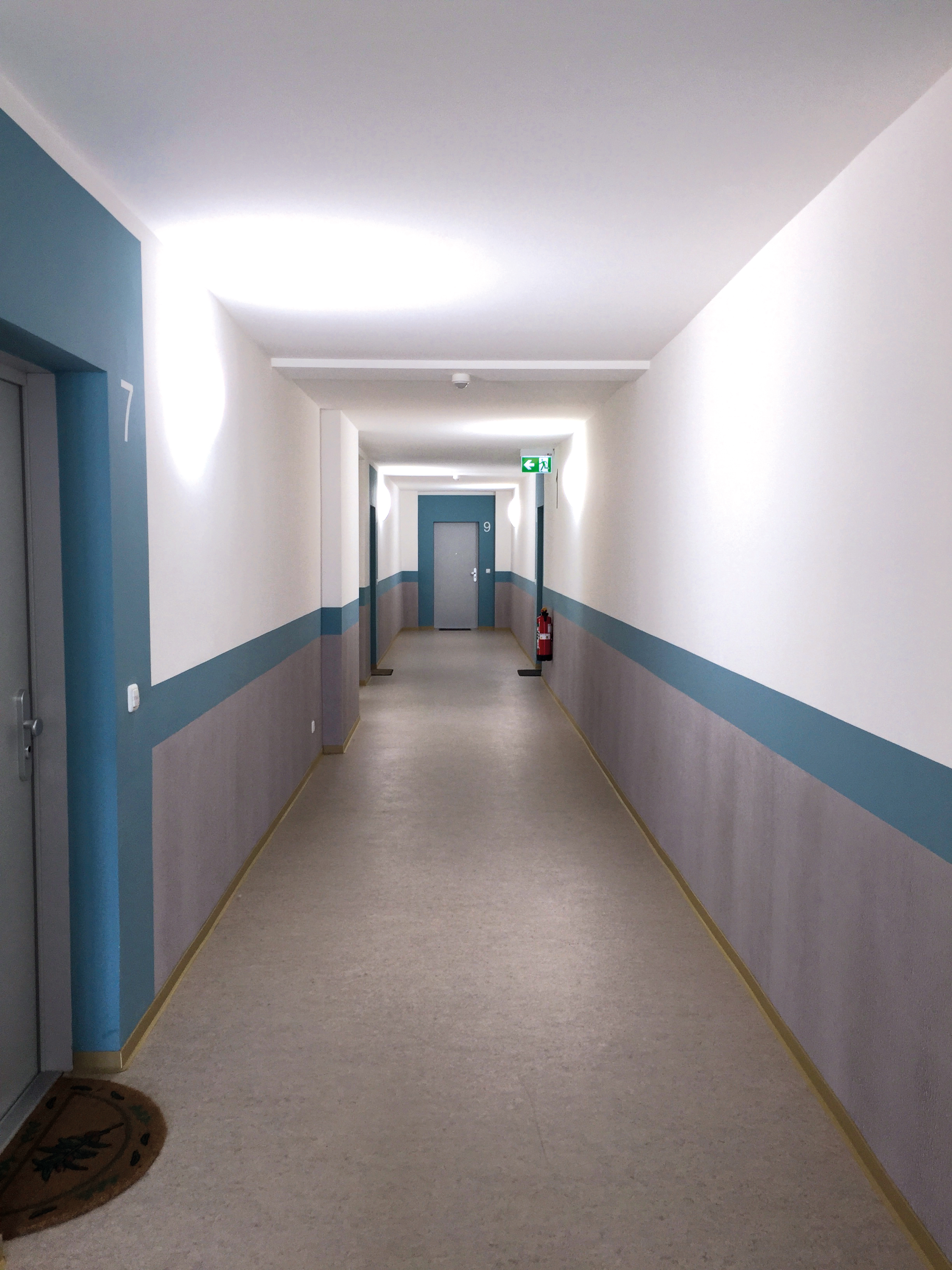 Mannheim, Hessische Straße, Flurgestaltung, Komplettsanierung, Alucobond-Fassade, MACON BAU GmbH Magdeburg