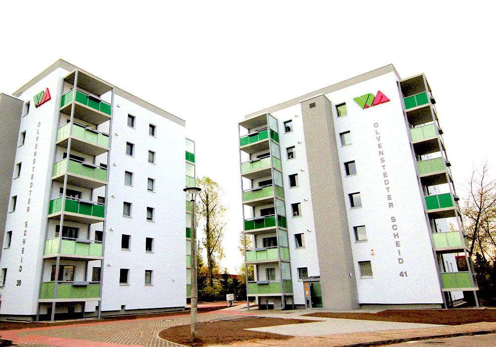 Magdeburg, Olvenstedter Scheid, Komplettsanierung, MACON BAU GmbH Magdeburg