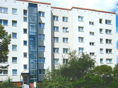 Berlin-Marzahn_Aufzugsanlage, Komplettsanierung für die Eigentum 2000 eG, MACON BAU GmbH Magdeburg