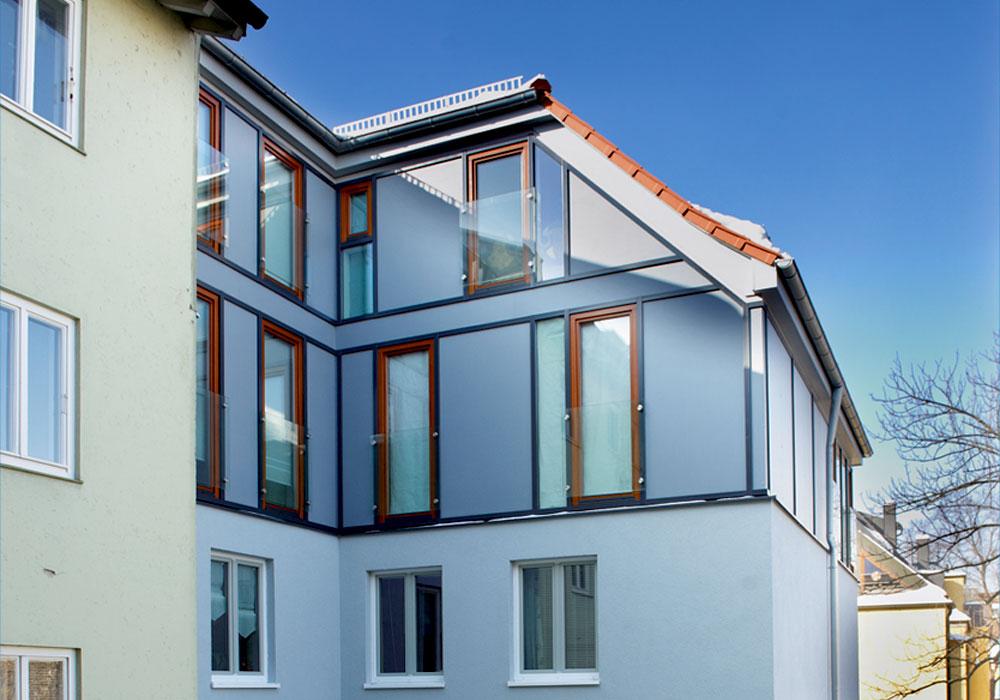 München, Adalbertstr., Energetische Sanierung mit Dachgeschossausbau 2009, MACON Bau GmbH Magdeburg