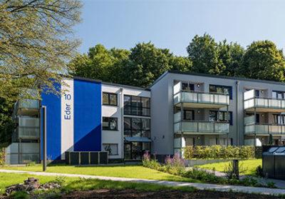 Bochum Flüssesiedlung, Ederstrasse 10+12, energetische Sanierung, MACON BAU GmbH Magdeburg