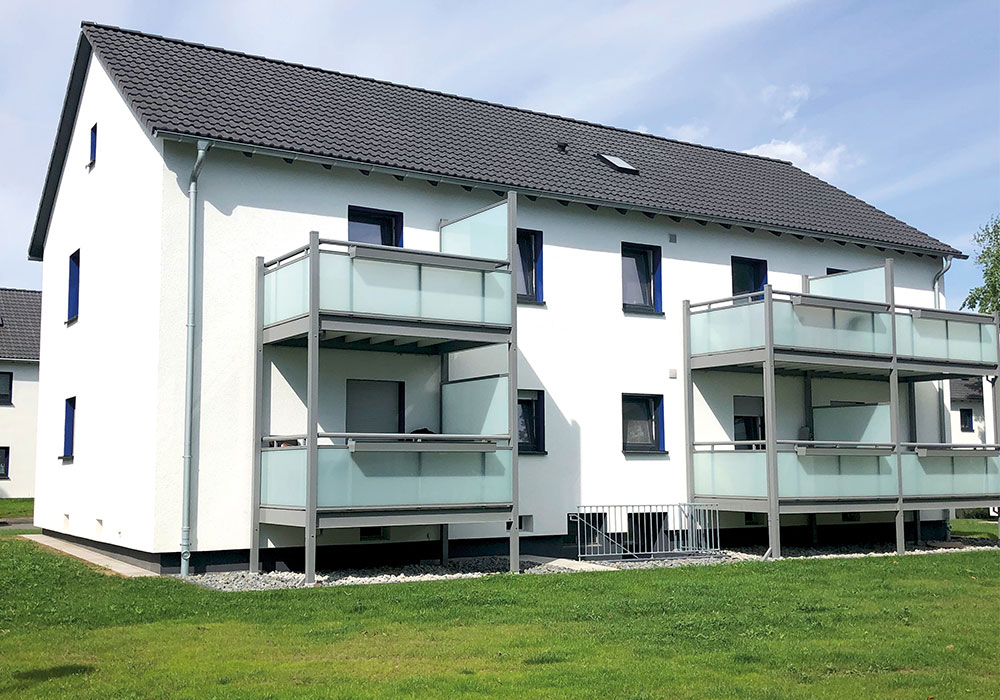 Bochum Grumme, Sorpe- und Werrastrasse, energetische sanierung und Modernisierung von 15 MFH mit insgesamt 62, MACON BAU GmbH Magdeburg