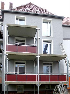 Sarstedt, Komplettsanierung eines Eckhauses mit 21 WE, MACON BAU GmbH Magdeburg