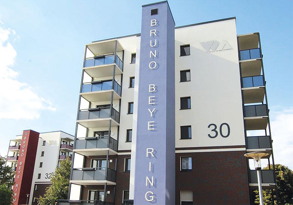 Magdeburg Bruno-Beye-Ring 30+32, Komplettsanierung, MACON BAU GmbH Magdeburg