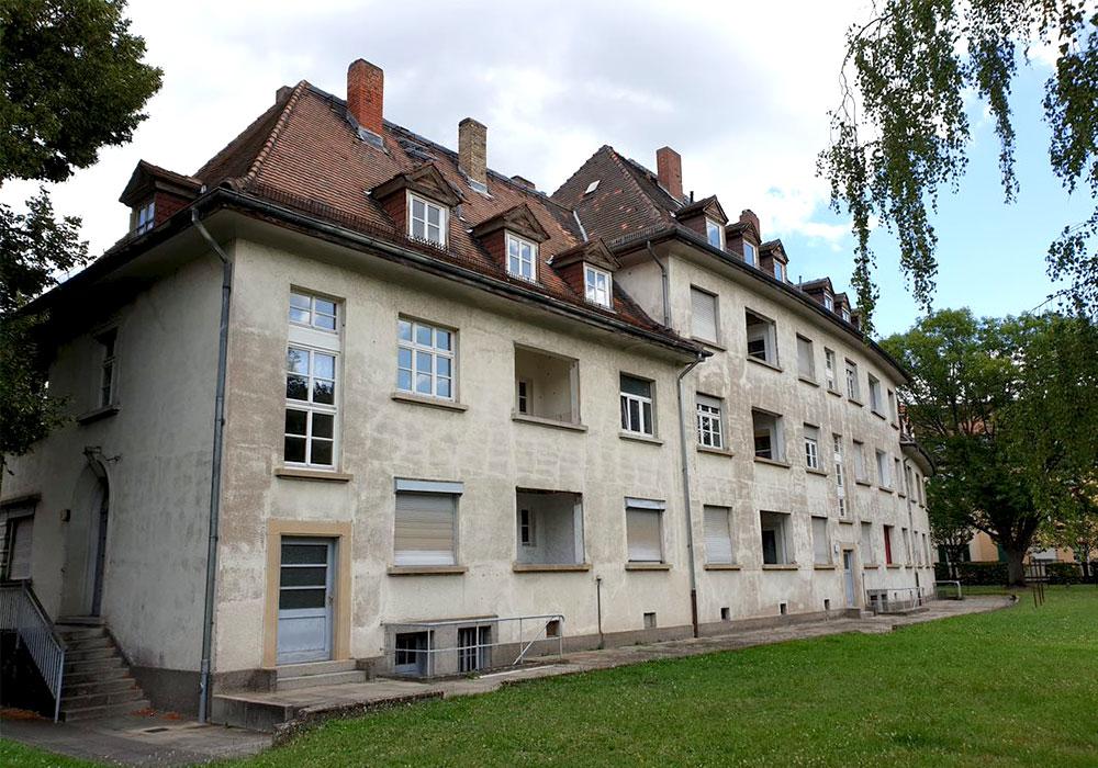 Mainz, Schneckenburger Str. 1-5, Komplettsanierung unter Denkmalschutzauflagen durch MACO BAU GmbH Magdeburg