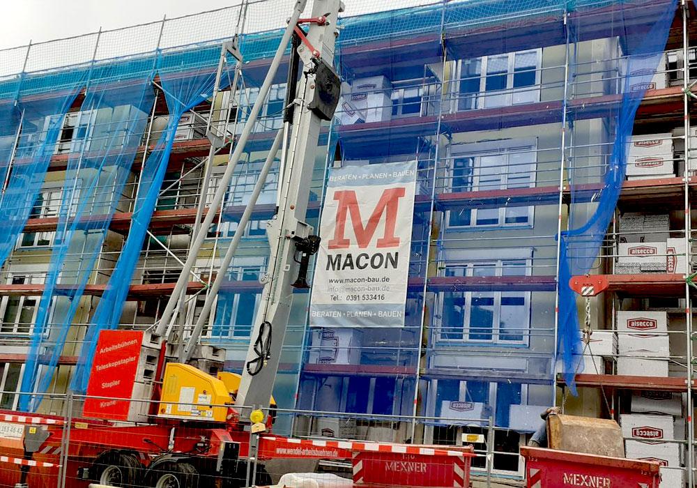 Rüsselsheim, Lehnbachstr. Komplettsanierung durch MACON BAU GmbH Magdeburg