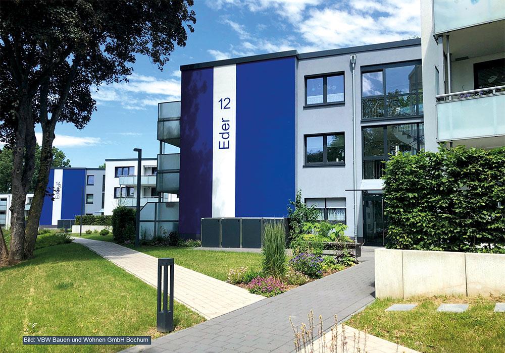 Bochum, Komplex Ederstr. 9-17, MACON BAU GmbH Magdeburg, energetische Sanierung