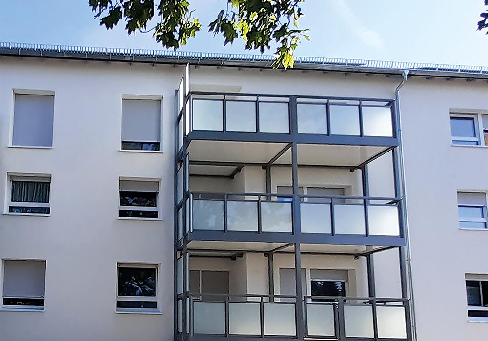 Rüsselsheim, Spessartring, Komplettsanierung durch MACON BAU GmbH Magdeburg