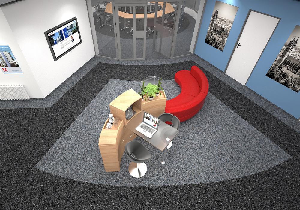 Neue Firmenzentrale der MACON BAU GmbH Magdeburg, Hansapark 1
