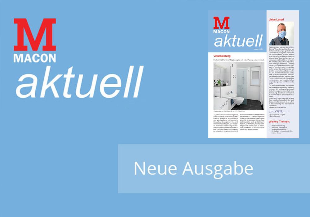 ACON aktuell - Zeitschrift der MACON BAU GmbH Magdeburg