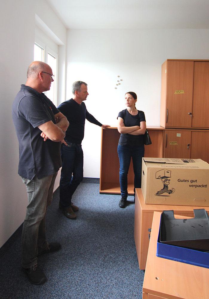 Umzug in die neue Firmenzentrale der MACON BAU GmbH Magdeburg - 39116 Magdeburg, Hansapark 1