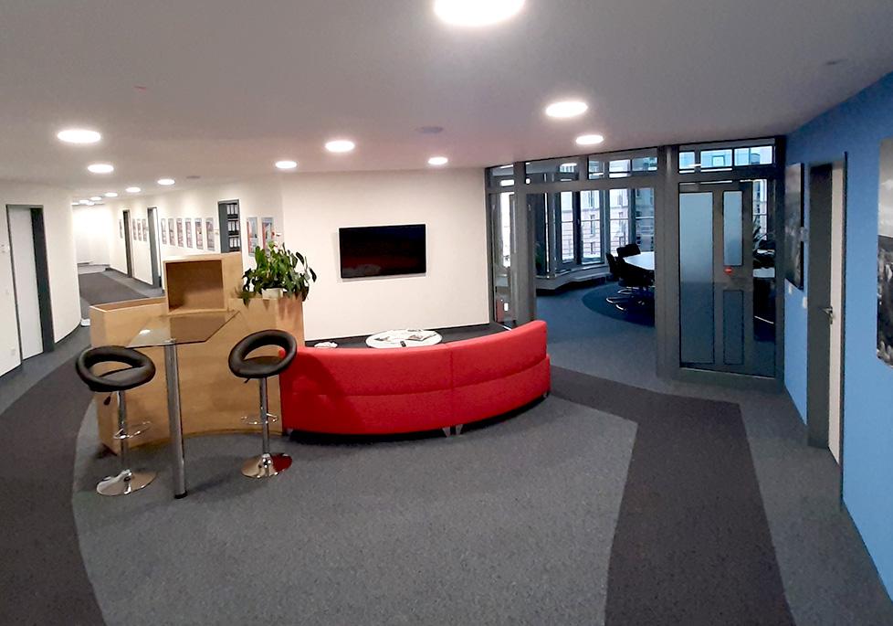 Neuer Firmensitz der MACON BAU GmbH Magdeburg: Hansapark 1
