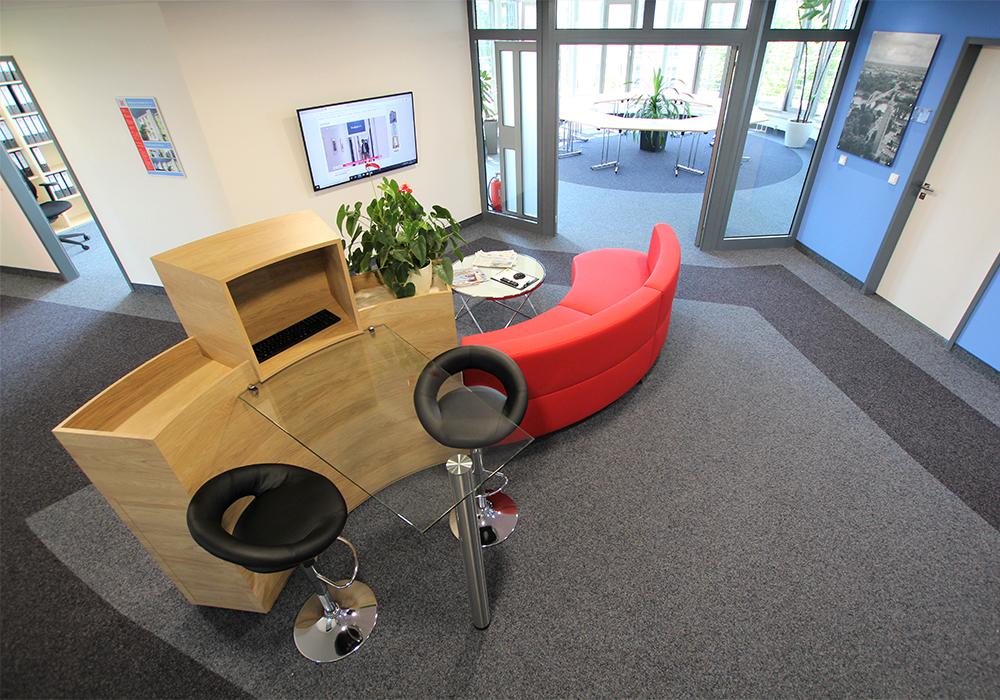Umzug in den neuen Firmensitz der MACON BAU GmbH Magdeburg - Hansapark 1