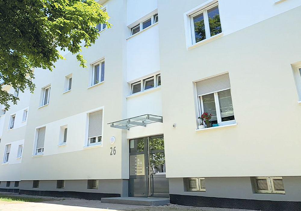 BV der MACON BAU GmbH Magdeburg in Mannheim - Schönau, Heilsberger Straße