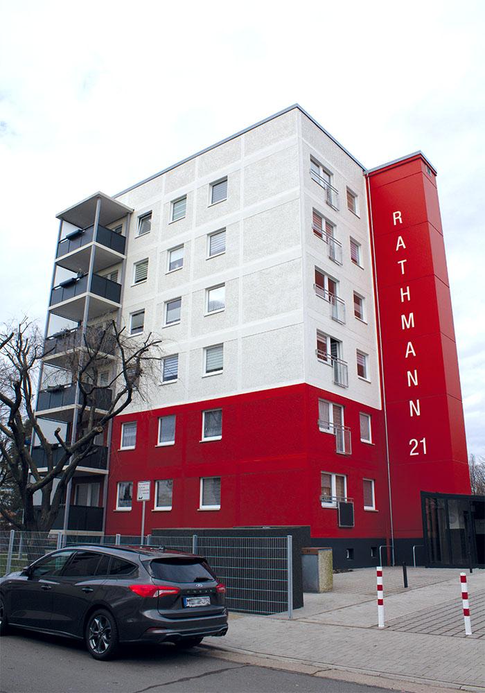 MD, Rathmannstraße, Komplettsanierung mit Aufzugserrichtung durch die MACON BAU GmbH Magdeburg