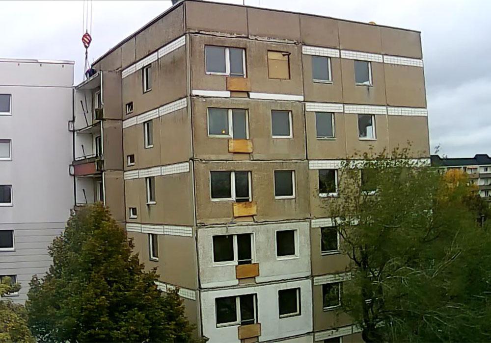 BV Magdeburg_Rathmannstr. 21 während der Bauphase
