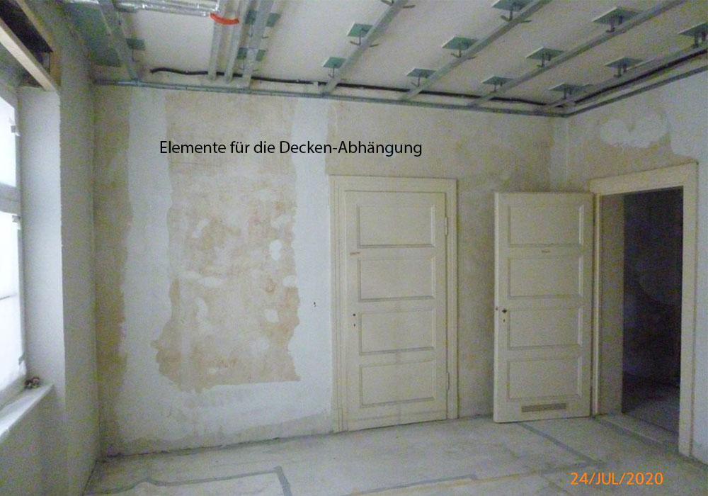 Elemente für Deckenabhängung, Mainz, Schneckenburgerstraße 1-5, BV der MACON BAU GmbH Magdeburg