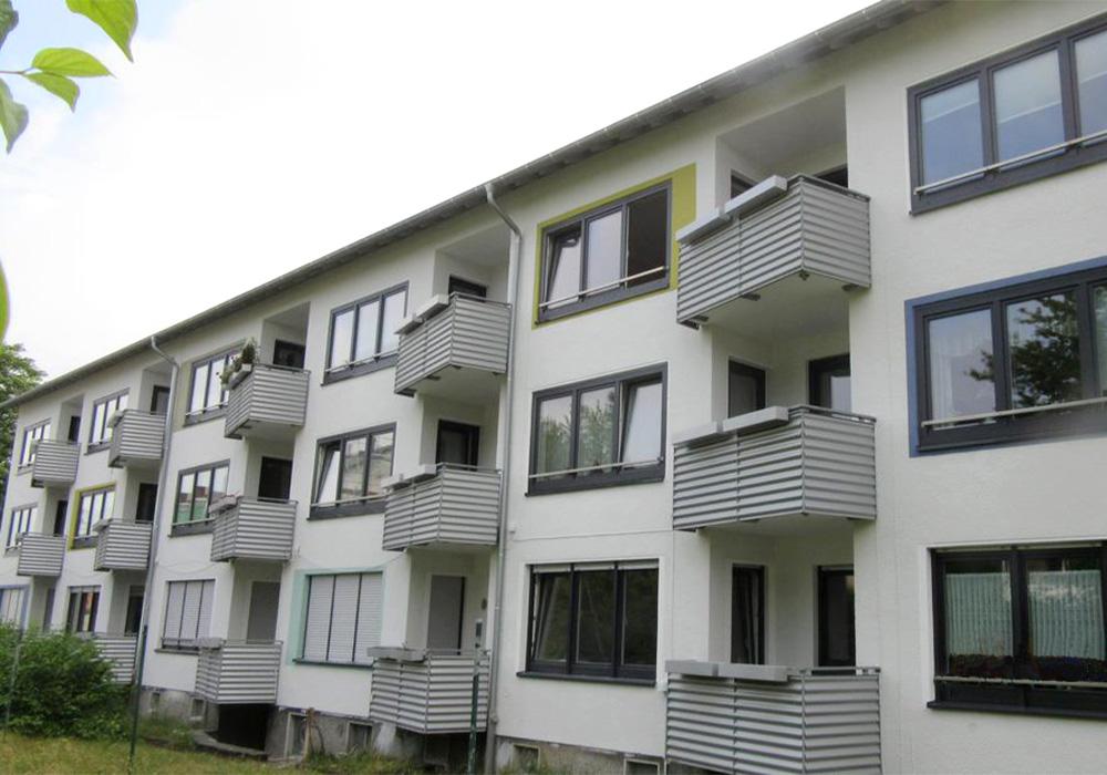 V in Bochum - Feldgartenweg und Beisingstraße; Komplettsanierung und tw. Aufstockung durch MACON BAU GmbH Magdeburg