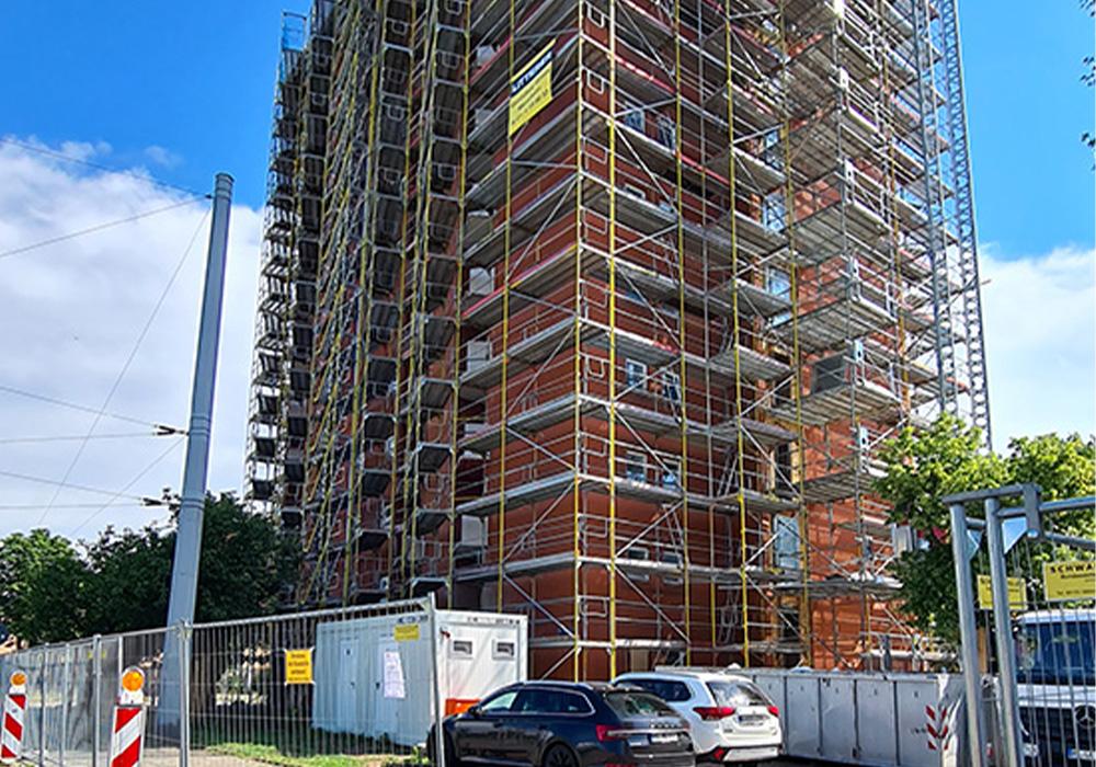 Hochhaussanierung in Mannheim Am Aubuckel 80 durch MACON BAU GmbH Magdeburg