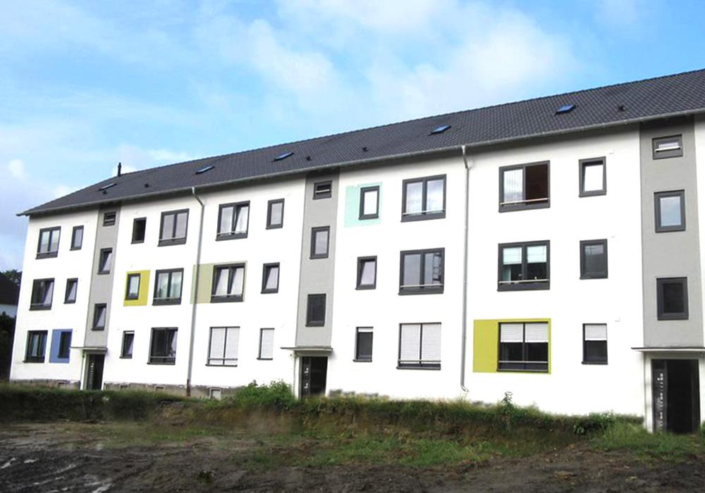 BV in Bochum - Feldgartenweg und Beisingstraße; Komplettsanierung und tw. Aufstockung durch MACON BAU GmbH Magdeburg