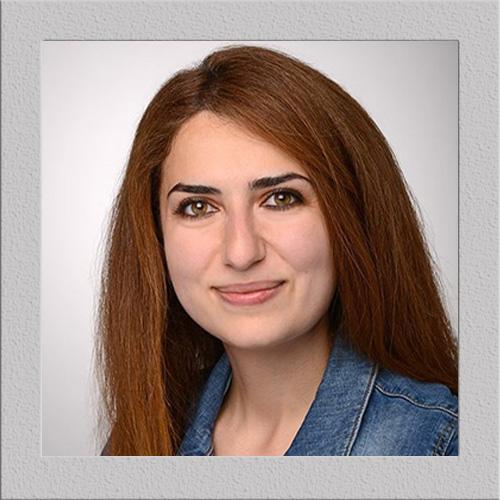 Frau Roua Darwiche, Mitarbeiterin der MACON BAU GmbH Magdeburg