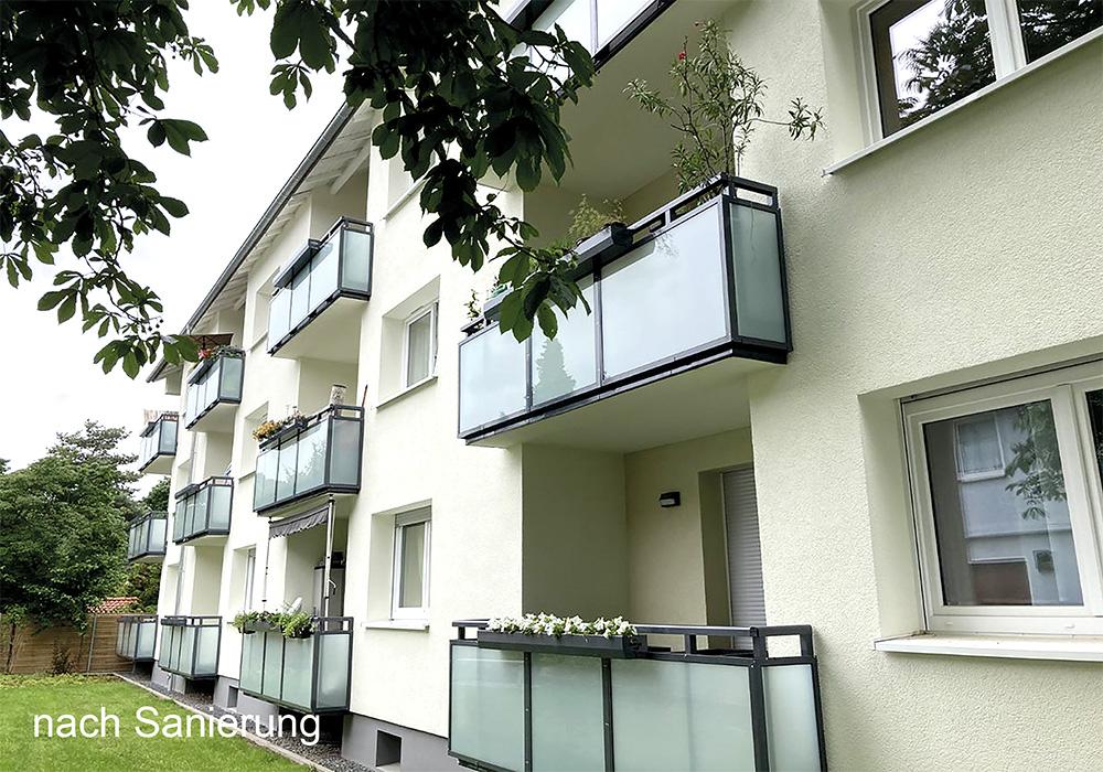 BV in Wiesbaden, Salzburger Straße, Komplettsanierung durch die MACON BAU GmbH Magdeburg